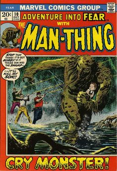 man thing comic book covers - Google Search