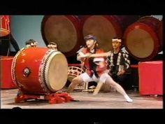打つ八丈,後半(鬼太鼓座)part 2 Japanese Taiko Drums