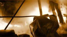 POMPIERII S.V.S.U ORAS VOLUNTARI incendiu 15.02.2013 Oras