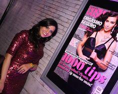 En la Cosmo Party la directora de Cosmo también posó junto a la portada que nuestra madrina, Kim Kardashian, nos autografió.