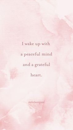 Daily Positive Affirmations, Morning Affirmations, Positive Vibes, Positive Quotes, Gratitude Quotes, Affirmation Quotes, Quotes To Live By, Me Quotes, All Is Well Quotes