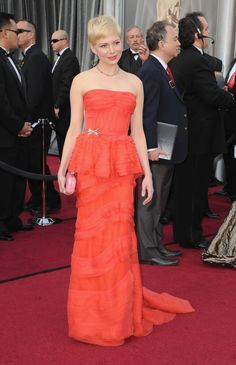 Michelle Williams - Premios Oscar 2012