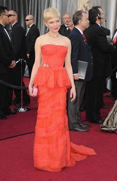 Michelle Williams - Premios Oscar 2012