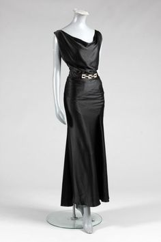 Alfred Lenief Evening Gown ca. 1930