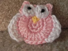 Crochet Tiny Owl - Tutorial.