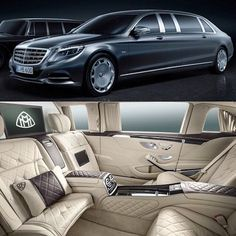 Mercedes Benz Maybach Pullman