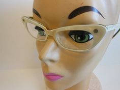 50s eyeglasses / Whites of the Eyes Vintage by Planetclairevintage, $42.00