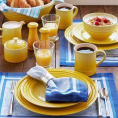 Le Creuset® Soleil 16-Piece Dinnerware Set, available at #surlatable