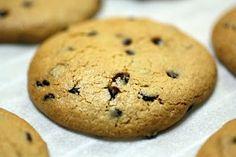 Almond Flour Chocolate Chip Cookies