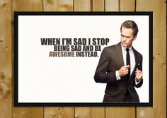 Buy Framed Posters Online Shopping India | Barney Stinson How I Met Your Mother Quote Glass Framed Poster | PosterGully