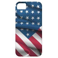 Ruffled America Flag iPhone SE/5/5s Case