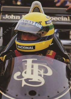 Ayrton Senna su Lotus