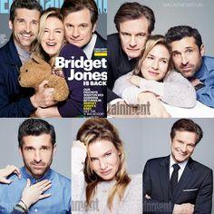 Entertainment Weekly dedico su portada a la esperada película Bridget Jones Baby protagonizada por Renée Zellweger, Patrick Dempsey y Colin Firth.  ¿Listos para ver la cinta en Septiembre de 2016?  #EW #MagazineVirtual #BridgetJones