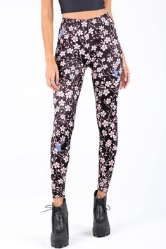 Swallow Leggings – 7 DAY UNLIMITED ($75AUD) by BlackMilk Clothing