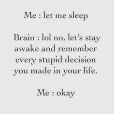 Me at night.