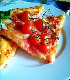 In Cucina con Mamma Agnese: Pizza  Mediterranea Croccante alle due Farine  Mtchallenge58