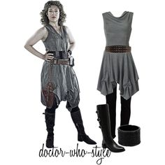 I love this outfit and I've never even watched Dr. Who :)