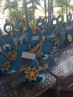 Ideas Baby Shower Ideas For Boys Nautical Centerpieces Anchors Anchor Baby Showers, Nautical Bridal Showers, Nautical Party, Nautical Wedding, Anchor Centerpiece, Centerpiece Ideas, Baby Shower Themes, Baby Boy Shower, Shower Ideas