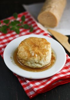 Southern Biscuits with Cinnamon Honey Butter (and also recipe for chocolate gravy)