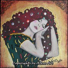 MINIATURE JASMINA Canvas: 10 x 10 cm
