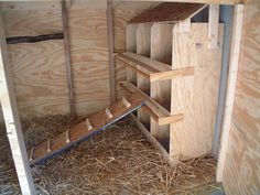 The Spivey Family: Chicken Coop Progress New Nest Boxes For The Coop!