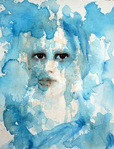 "Saatchi Online Artist Fiona Maclean; Painting, ""i Dreamt in Blue"" #art"