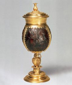 Keberlin, Michael. Coconut Cup. Coconut, gilt silver, Augsburg, 1568-70