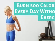 Today I'm going to tell you 10 ways To burn 500 calories every day without exercise to quickly lose weight in the best way. Home Health, Mental Health, Health Fitness, 500 Calories A Day, Burn Calories, Reducing Cortisol Levels, Natural Antidepressant, Quitting Alcohol, Spanish Omelette