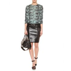 Proenza Schouler - PERFORATED LEATHER SKIRT - mytheresa.com GmbH