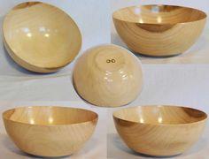Hand turned Tulip Poplar bowl by Cynthia Haney