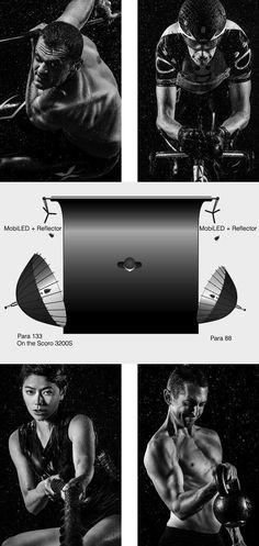 http://www.vonwong.com/blog/epicgymshoot/ #photographylightingsetup