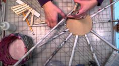 This is a craft for kids! We will make a basket out of newspapers. You will need: a newspaper thin cardboard (like from a cereal box) white glue clothespins ...