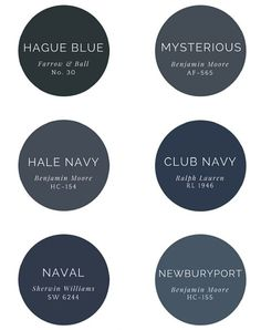 In today's post, we are going to share with you a few of our favorite dark paint colors and a great resource, to help you make the selection process easier.