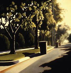 "Kenton Nelson - ""Thursday's Chore"" Fantasy Landscape, Landscape Art, Landscape Paintings, Landscapes, Landscape Drawings, Grant Wood, Anime Comics, Diego Rivera, Montenegro"