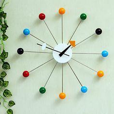 Reloj de pared Bolas de Colores | Relojes de Pared