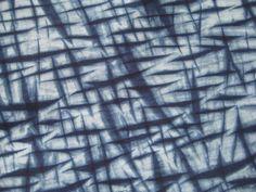 Indigo Dyed Cotton Shibori Fabric by CapeCodShibori on Etsy