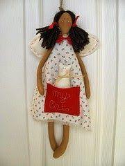 Umas gracinhas de anjinhos e ja podemos ir fazendo....Natal está próximo! http://ateliecantinhodetudo.blogspot.com.br/2011_11_...