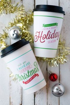 Warm and Merry Neighbor Gifts via @diy_candy