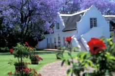 The Palmiet Valley Estate in Paarl, Western Cape, is an exclusive country house hotel which has a history dating back to 1692, the time when some of the original European settlers and wine growers arrived in the Cape. The 96 acre estate is host to exotic fruit trees and endless vines of noble white grape varieties, such as Chardonnay and Chenin blanc.  http://www.south-african-hotels.com/hotels/palmiet-valley-estate/