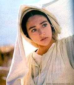 "Olivia Hussey, as Mary, Mother of Jesus. ""Jesus of Nazareth"" (1977)"