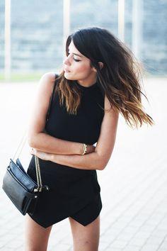 Black Sleeveless Summer Fashionable Dress