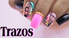 Nail Manicure, Pedicure, Nails, Nail Designs, Nail Art, Beauty, Beautiful, Youtube, 3d