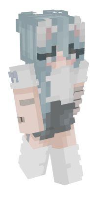 Check out our list of the best Neko Minecraft skins. Minecraft Skins Tomboy, Minecraft Skins Cute, Minecraft Skins Aesthetic, Minecraft Cat, How To Play Minecraft, Minecraft Stuff, Minecraft Ideas, Starbucks Background, Neko