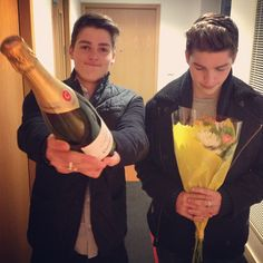 Jack and Finn Harries <3.......Awww thanks guys xxx