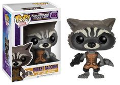 POP! Vinyl Figure Guardians of the Galaxy Rocket Raccoon - The Movie Store