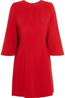 Alexander McQueen Stretch woven mini dress   NET-A-PORTER