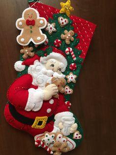 Bucilla Merienda sentía media de la Navidad