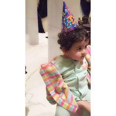 Nouf bint Juma bin Dalmook Al Maktoum, 1 cumpleaños, 01/03/2015. Vía: mrs_almaktoum