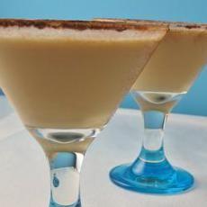 Espresso Martini (1 oz vanilla vodka  2 oz  coffee flavored liqueur  1 oz cream (milk)  1 cup ice)