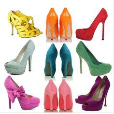 colorful pumps